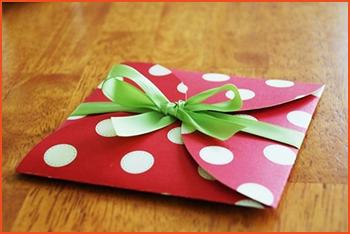 Подарочный конверт своими руками поэтапно