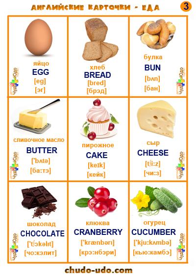 английское слово с транскрипцией 3 класс chocolate