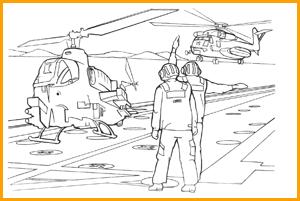 раскраска военные пилоты