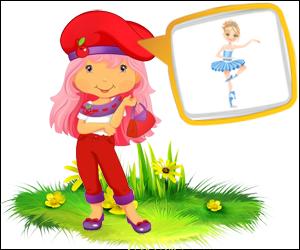 Скороговорки с картинками для детей - балерина