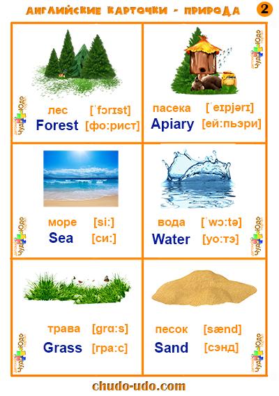 Красота природы перевод на английский