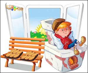 Скороговорки развития детей в картинках - Пироги в печи
