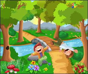 Скороговорки развития детей в картинках - Прыжок