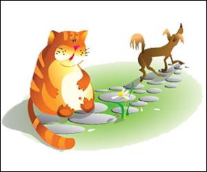 Скороговорки развития детей в картинках - Рыжий кот