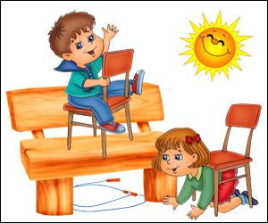 Скороговорки развития детей в картинках - Скакалка