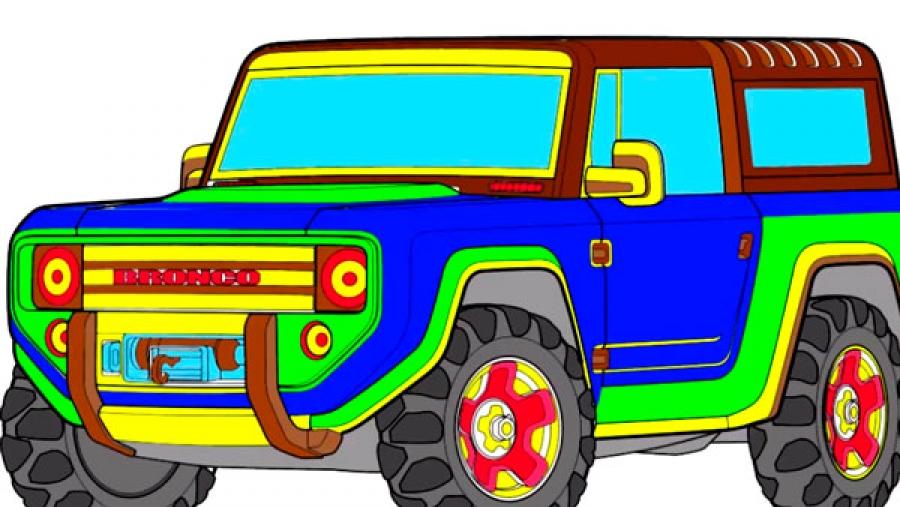 Цветные машины картинки для детей
