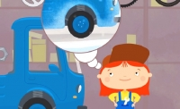 Kid's Cartoons. Cartoon CAR DOCTOR - TRUCK's TIRE CHANGE!