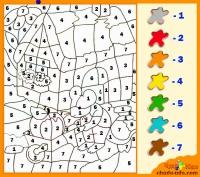 веселые раскраски по цифрам онлайн раскрашивай с умом