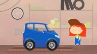 CAR DOCTOR! Kid's Cartoon. Car Trailer! Doc McWeelie provides a trailer to help a small car!
