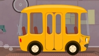 Kid's Car Cartoons - SCHOOL BUS STORY. CAR DOCTOR! Doc McWheelie's Garage