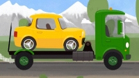 Kid's Car Cartoons.CAR & TOW TRUCK CAR DOCTOR! Doc McWheelie's Garage!